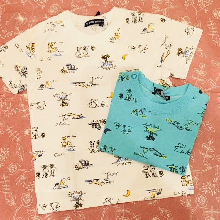 恐竜柄Tシャツ<br /> ¥1404