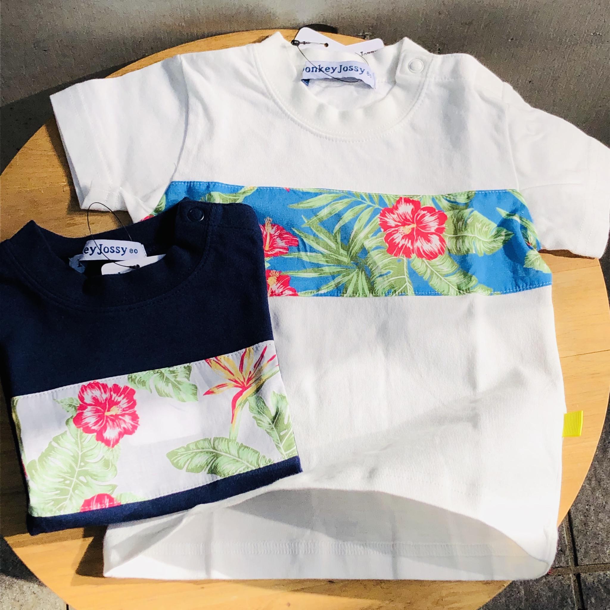 ボタニカル切り替えTシャツ<br /> ¥2052
