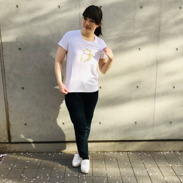 プリントTシャツ<br /> ¥1080