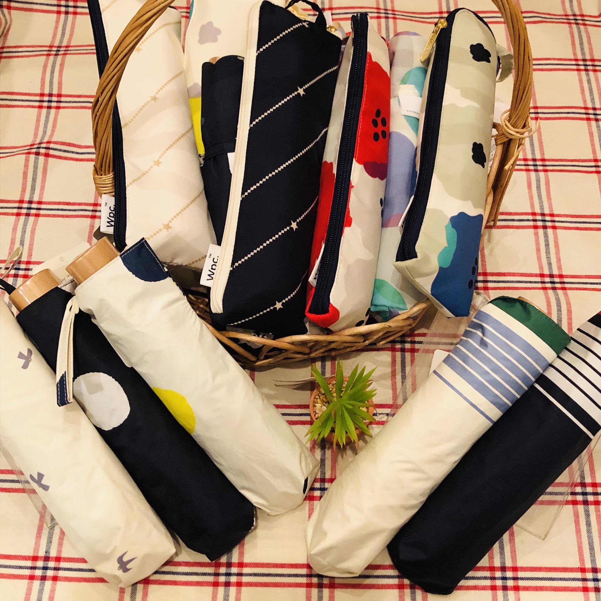 晴雨兼用折り畳み傘<br /> ¥1620~