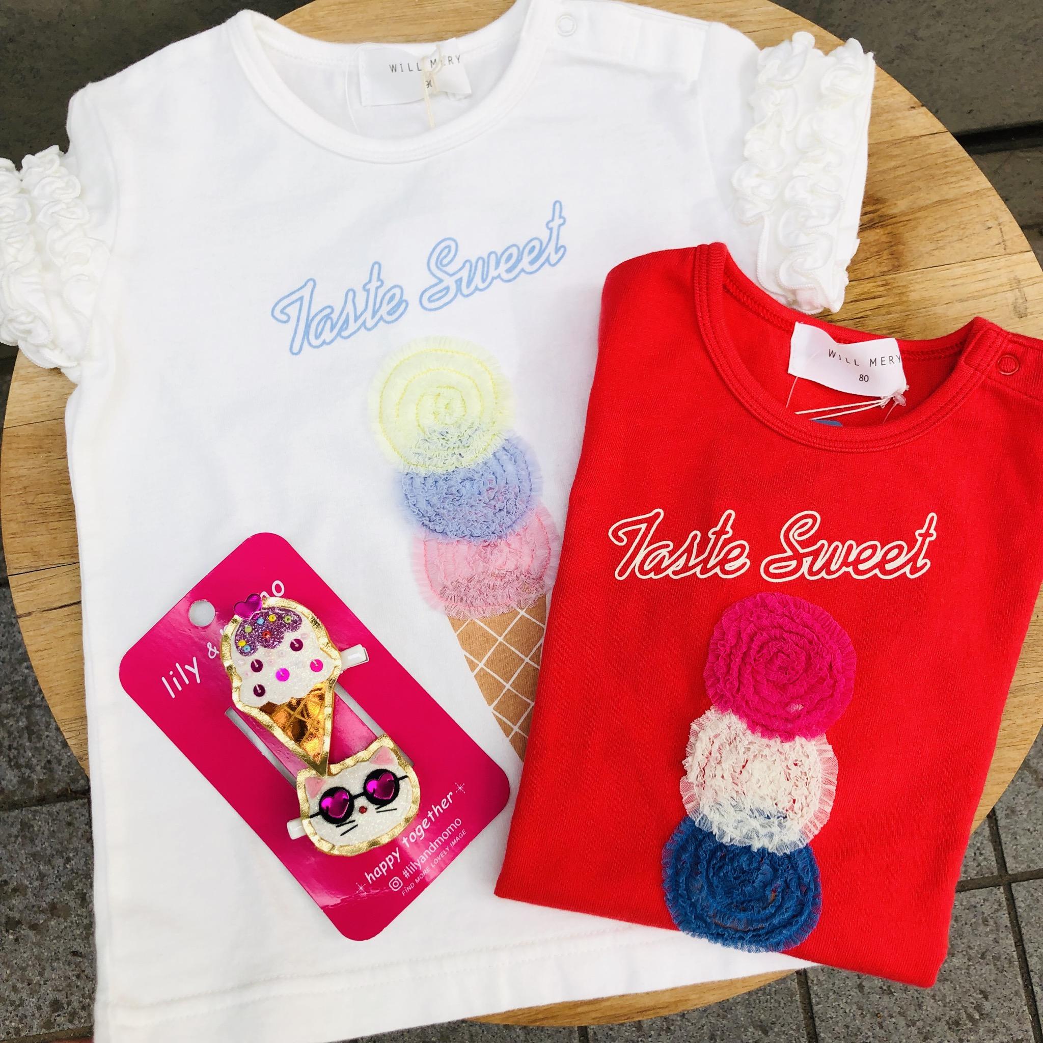 アイス柄Tシャツ<br /> ¥1620