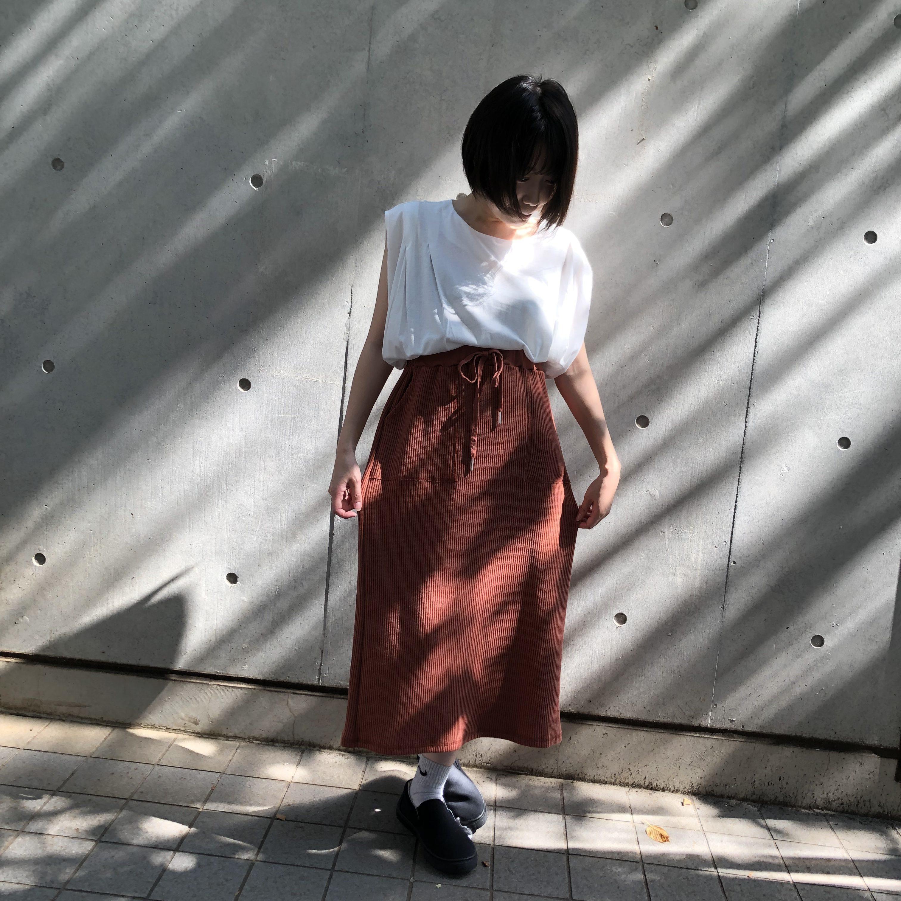 ワッフルスカート<br /> ¥4212