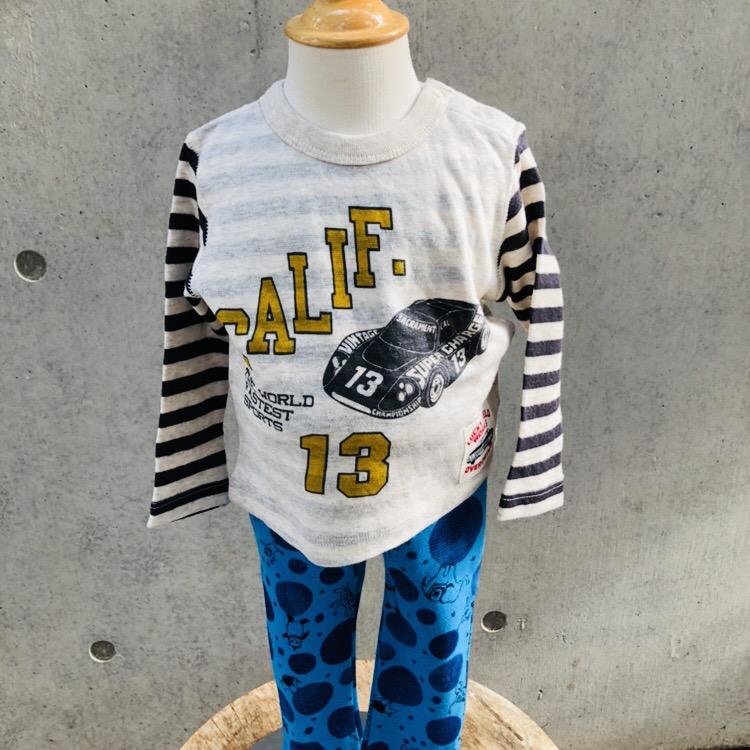 切替えロングTシャツ<br /> ¥2052